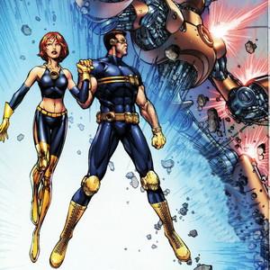 Scott and Jean Ultimate Xmen