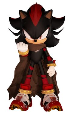 Shadow's outfit in Sonic Boom