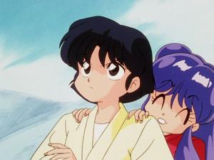 Shampoo y Akane Ranma 1/2 Akane and Shampoo (らんま½ あかねとシャンプー) (란마 ½ 샴