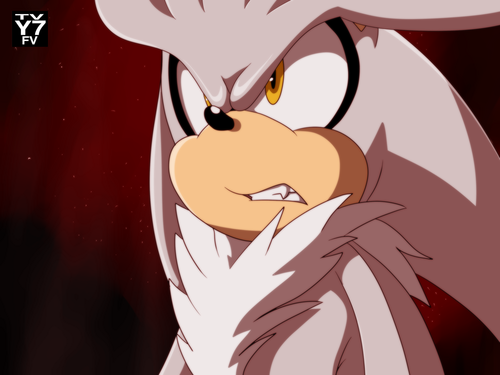 Silver the Hedgehog wallpaper called Silver in Sonic x