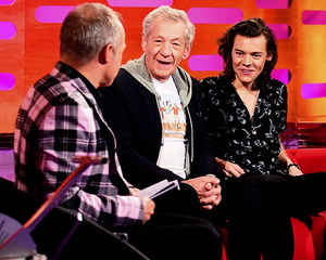Sir Ian and Harry
