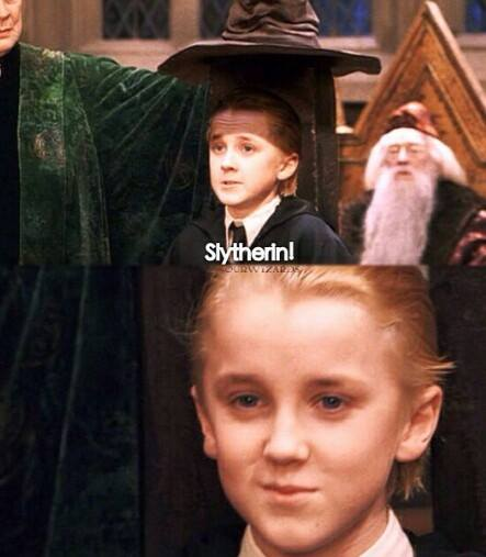 Slytherin and the sorting hat