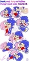 SonAmy as babies (comic 2)