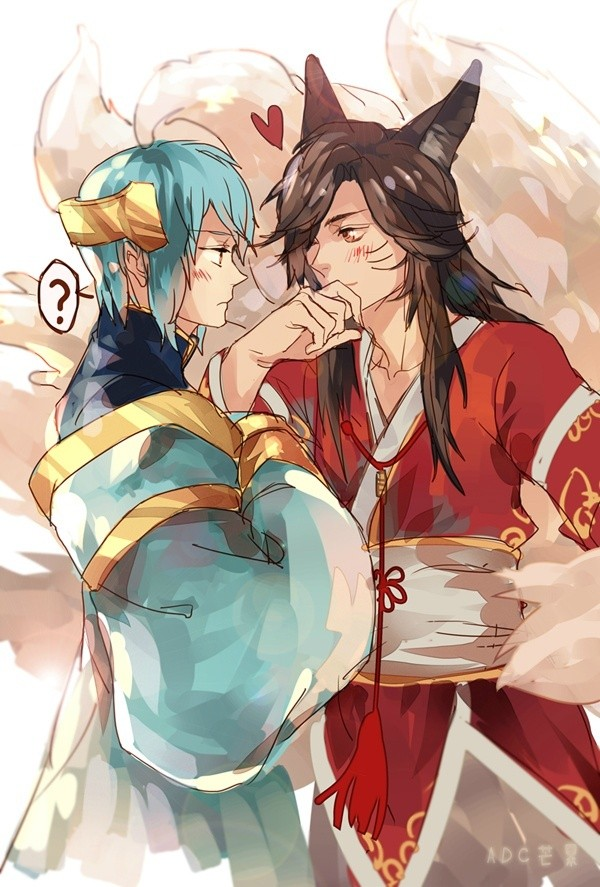 League of legends sona and ahri