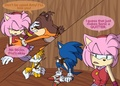 Sonic can't halik Amy