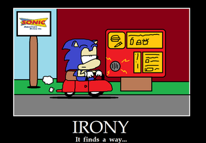 Sonic drives to Sonic