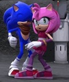 Sonic is happy?