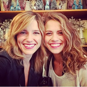 Sophia palumpong and Bethany Joy Lenz