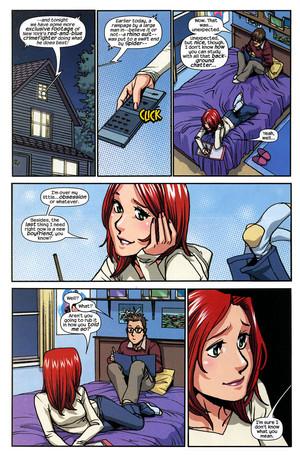 Spider-man loves MJ