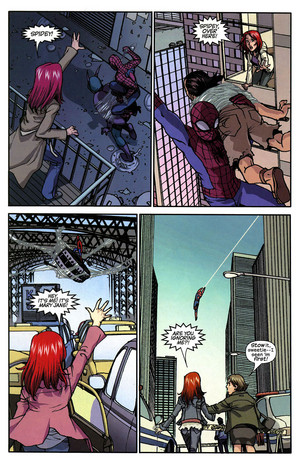 Spider-man loves MJ