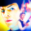 Star Trek (2009) photo probably with a portrait called Spock/Ripley/Han Solo