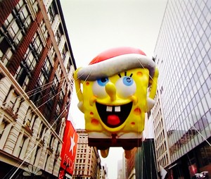 Spongebob Flying High!