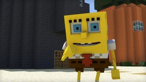 Spongebob minecraft