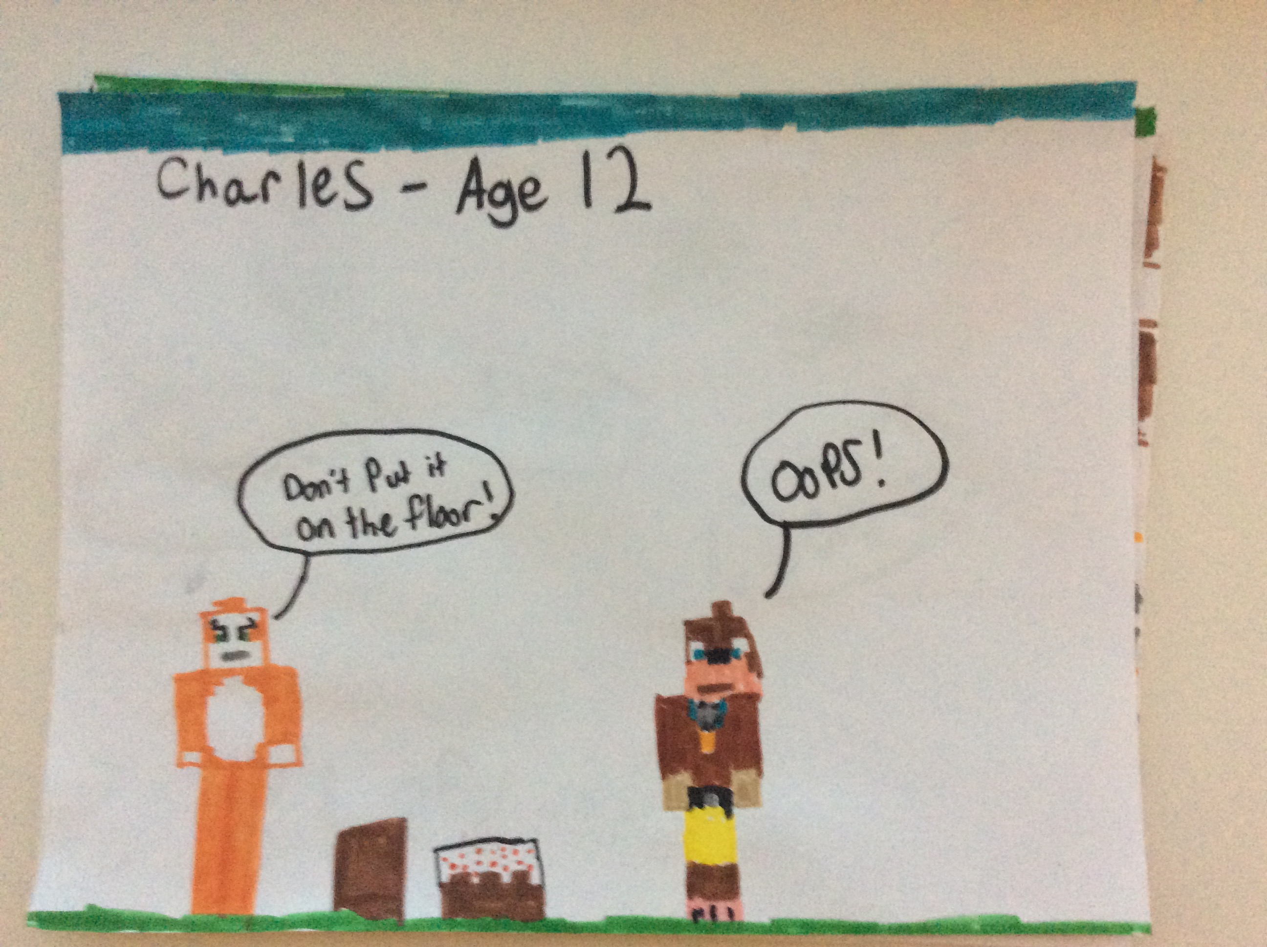 Stampy and Lee