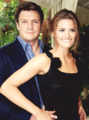 Stanathan-Photoshoot - nathan-fillion-and-stana-katic photo