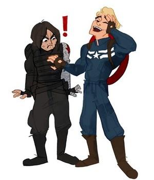 Steve/Bucky ★ (a beautiful parody)