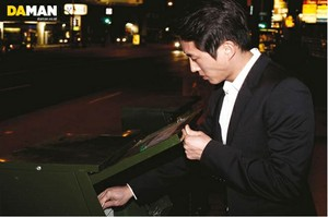 Steve Yeun// Da Man Magazine
