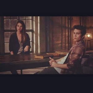 Stiles and Cora