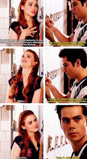 Stiles and Lydia AU