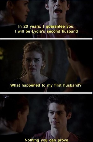 Stiles and Lydia Funny
