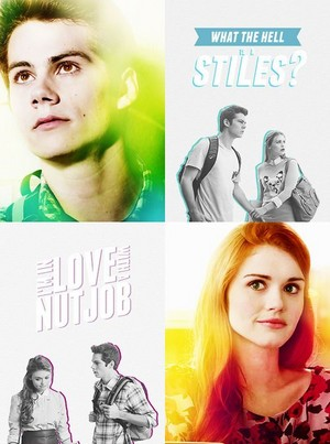 Stiles and Lydia