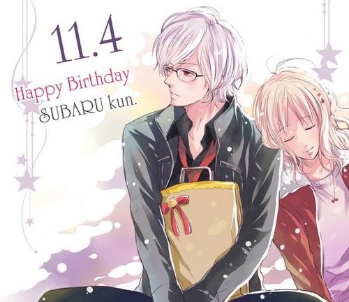 Diabolik amoureux fond d'écran probably with a kimono called Subaru and Yui
