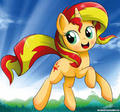 Sunset Shimmer - my-little-pony-friendship-is-magic fan art