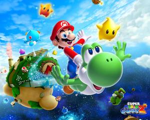 Super Mario Galaxy 2 Background