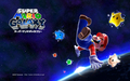 Super Mario Galaxy Background