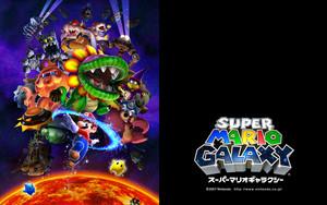 Super Mario Galaxy Background