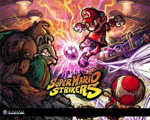 Super Mario Strikers Background