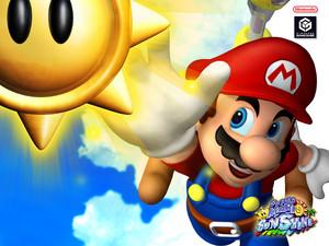 Super Mario Sunshine Background