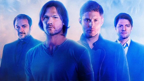 Supernatural wallpaper probably with a business suit and a suit called Supernatural Cast