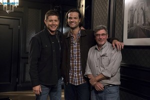 Supernatural - Episode 10.07 - Girls, Girls, Girls - Promo and BTS Pics