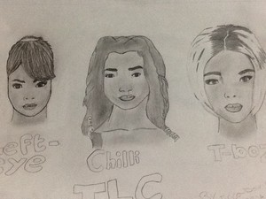 TLC t-boz,chilli,and left-eye!:3