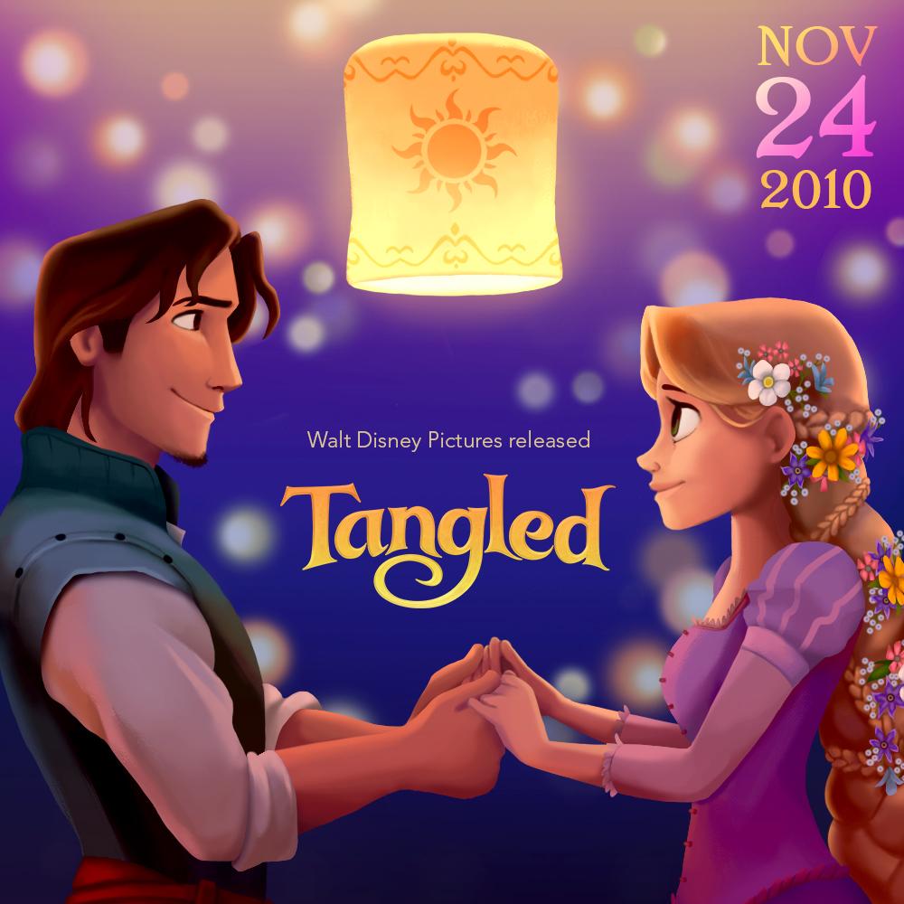 Tangled 4th Anniversary