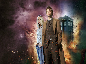 Tenth Doctor and Rose Tyler ♥