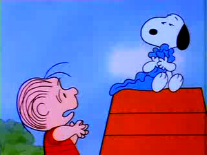 The Charlie Brown and Snoopy ipakita