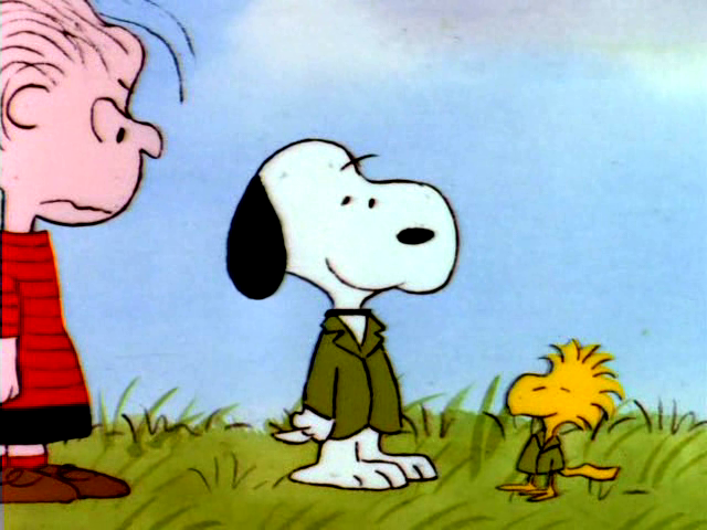 The Charlie Brown and snoopy hiển thị