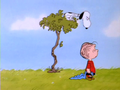 The Charlie Brown and snoopy tampil