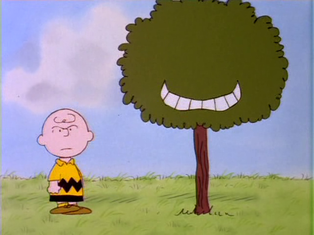 The Charlie Brown and 史努比 显示