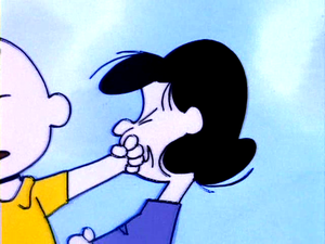 The Charlie Brown and Snoopy toon