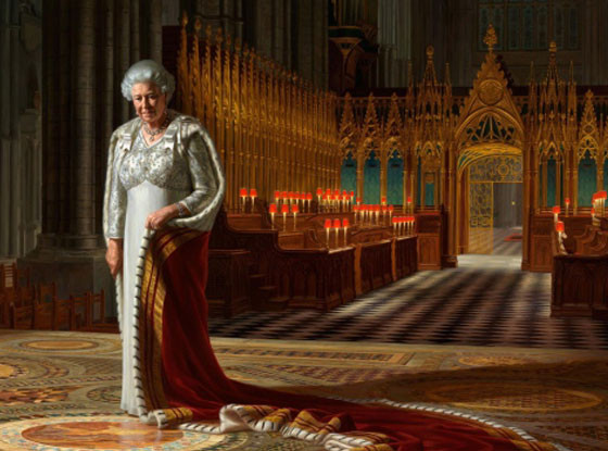 The Coronation Theatre, Westminster Abbey: A Portrait of Her Majesty Queen Elizabeth II