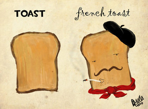 The Difference Between brindis, pan tostado and French brindis, pan tostado