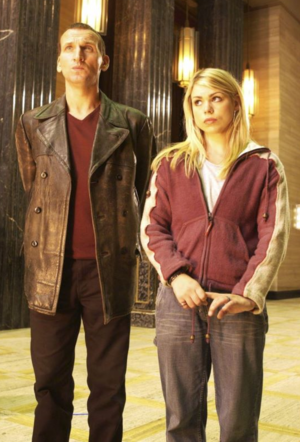 The Doctor and Rose Tyler
