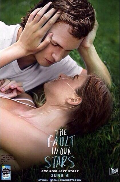 Fault In Our Stars Poster The Fault In Our Stars Official Poster
