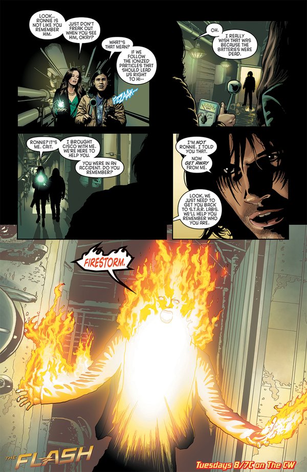 The Flash - Episode 1.09 - The Man in the Yellow Suit - Comic Preview