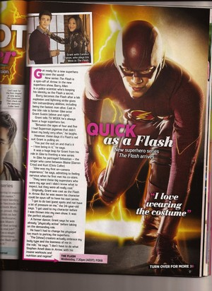 The Flash - TV Week Australia articoli