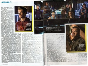 The Flash and panah - Magazine Scans