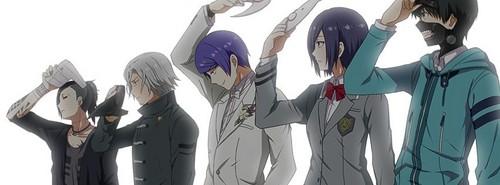 tokyo ghoul fondo de pantalla titled The Ghouls